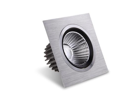 Small power LED ceiling spotlights.